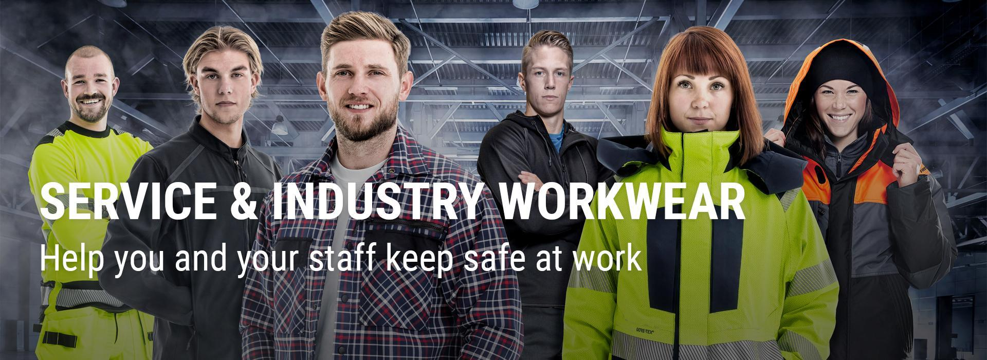 Somerset Workwear for your Industry