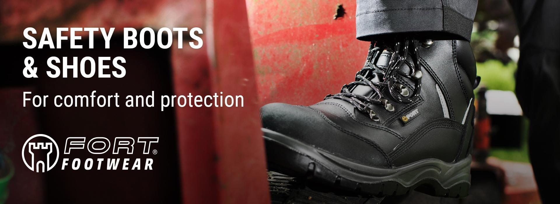Fort safety boots