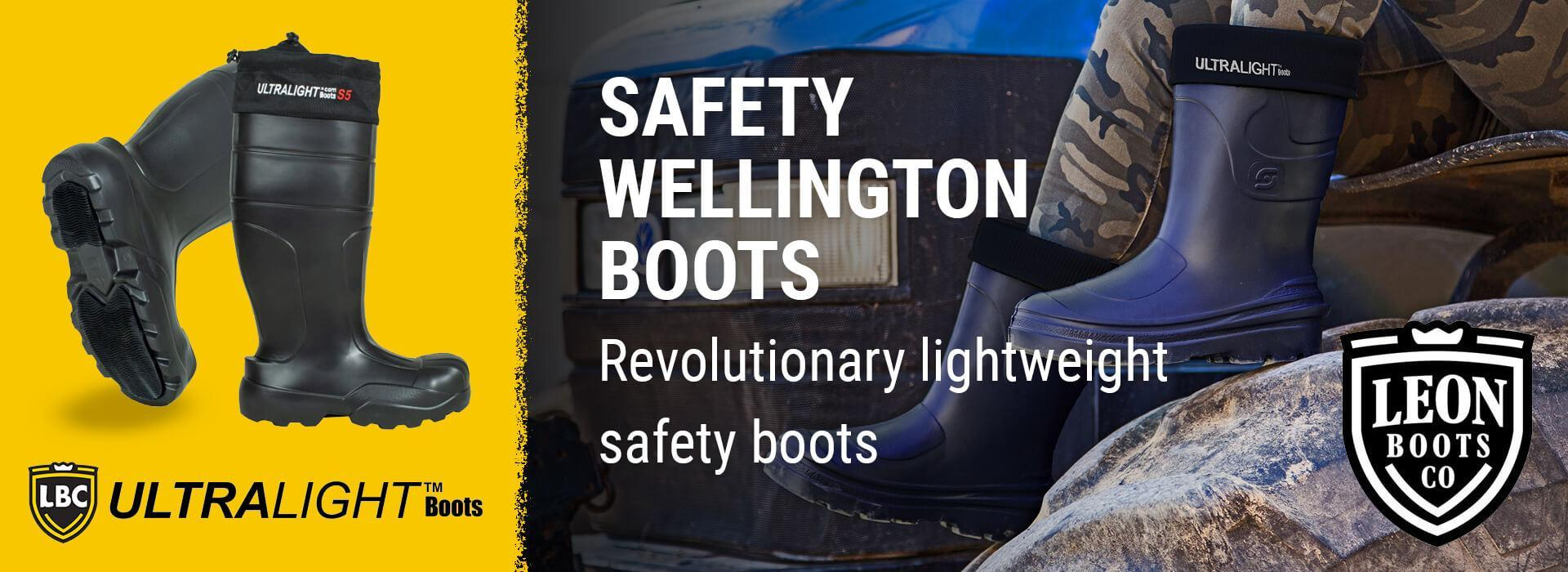 Somerset Workwear for Safety and Standard Wellington Boots