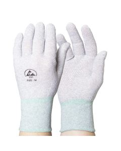 Plain Knitted ESD Gloves