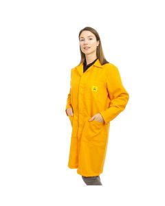 ESD Lab Coats in Orange