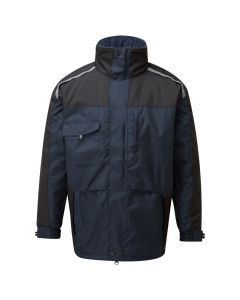 You are ready for anything when zipped up warm in the Cleveland Jacket
