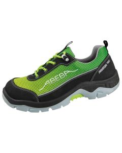 Abeba ESD Safety Shoe Anatom in yellow/green with dots