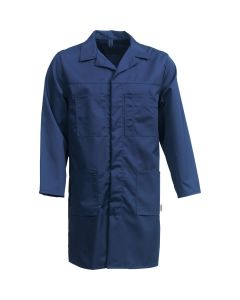 Navy Blue Lab Coat