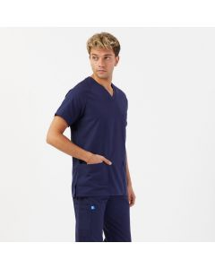 Men's Scrubs in Navy Blue