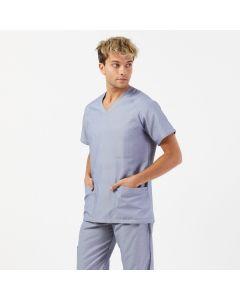 Men's Scrubs in Light Grey