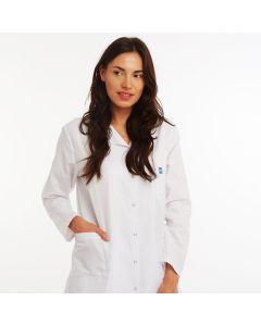 Women's White Medical Coat