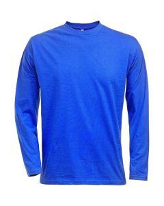 Male Royal Blue Long Sleeved T-Shirt