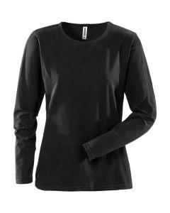 Female Black Long Sleeved T-Shirt