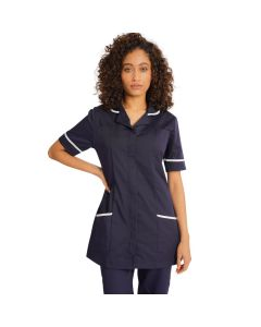 Ladies Healthcare Tunic in Navy Blue