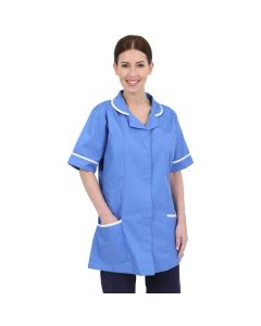 Ladies Healthcare Tunic in Hospital Blue