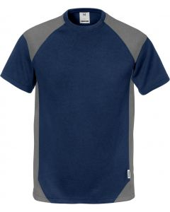 Fristads Navy & Grey T-Shirt 122396