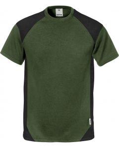 Fristads Army Green & Black T-Shirt 122396