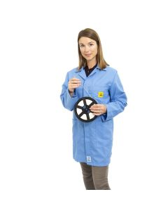 ESD Lab Jackets in Light Blue