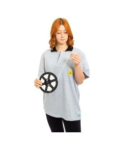 ESD Polo Shirts Short Sleeved in Grey