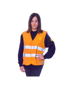 Orange ESD Hi Vis Jacket