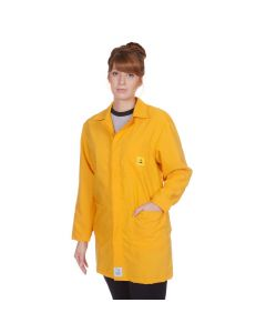 ESD Lab Jackets in Yellow