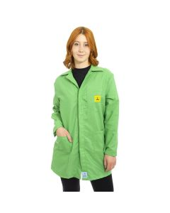 ESD Lab Jackets in Mint Green