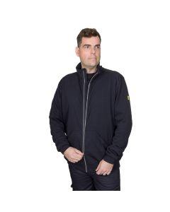 ESD Black Sweat Jacket
