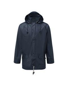 Navy Blue Airflex Waterproof Jacket