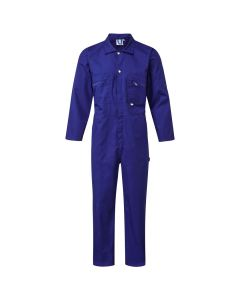 Zip Front Royal Blue Coverall