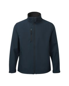 The 204 Selkirk softshell jacket in navy blue
