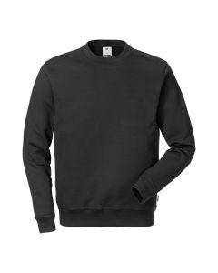 Functional classic Fristads black sweatshirt designed to look good