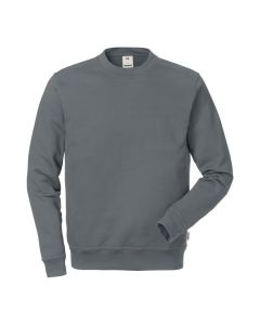 Classic dark grey sweatshirt manufactured from high quality, hard wearing material