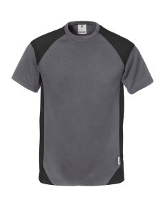 Fristads t-shirt with contrast panels to the shoulders and sides