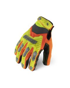 Reflective design and impact protection of the IEX-HZI glove