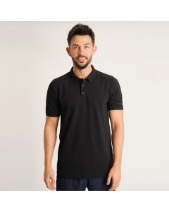 Men's Polo shirt in Black