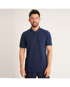 Men's Polo Shirt in Navy Blue