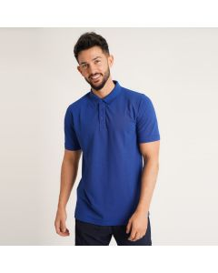 A high quality men's polo shirt in Royal Blue