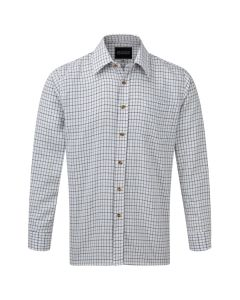 Tattersall Shirt in Blue Checked