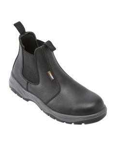 Nelson Safety Dealer Boot in Black