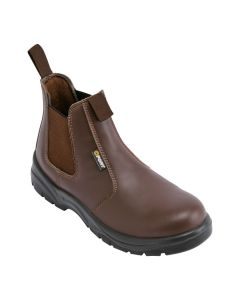 Nelson Safety Dealer Boot in Brown
