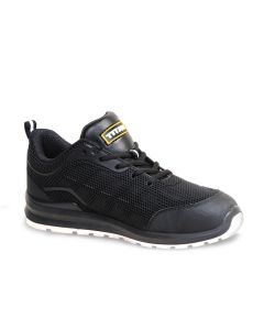 Titan Jogger safety trainer with cut resistant fly knit mesh upper