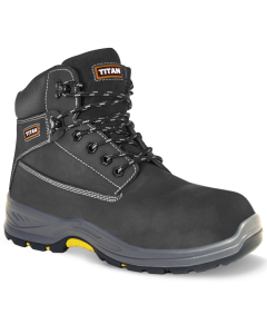 The Holton black nubuck boot offers excellent safety features