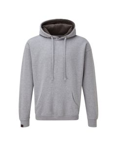 Warm hoodie in light grey
