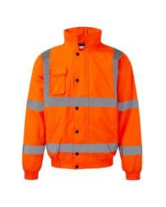 Quality workwear hi-vis Warrior orange jacket