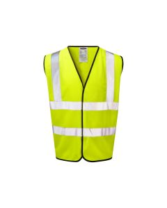 The Warrior yellow hi-vis safety vest conforms to the European standards EN471 : Class 2
