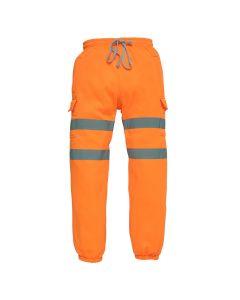 Hi Vis orange jogger's that are effective workwear
