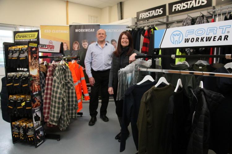 Somerset Workwear based in Westfield, Radstock, Somerset