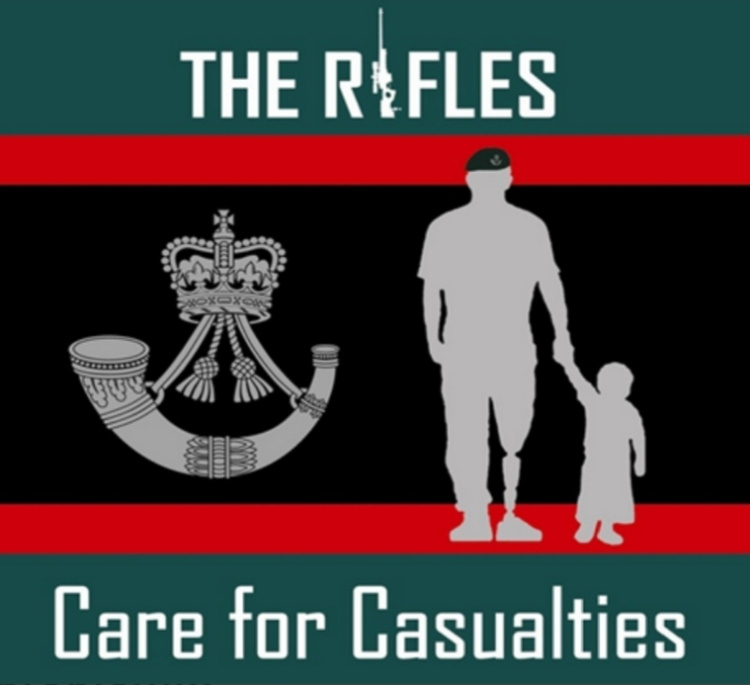The Rifles - Care for Casualties- A worthy cause